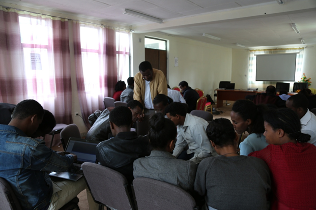 Training given for academic staff on software application